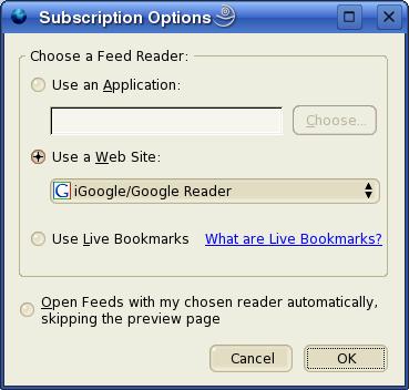 Opcje subskrypcji