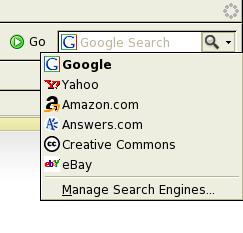 Odnowione pole wyboru wyszukiwarki