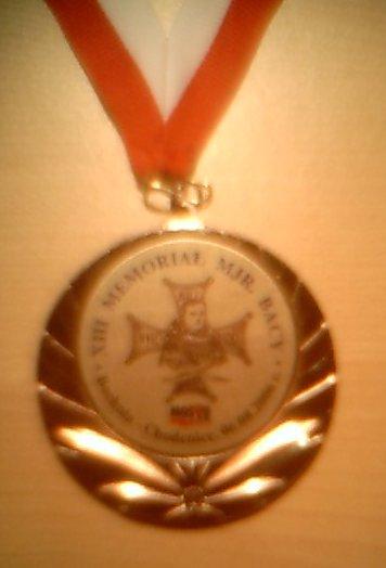 XIII Memoriał Mjr. Bacy - medal