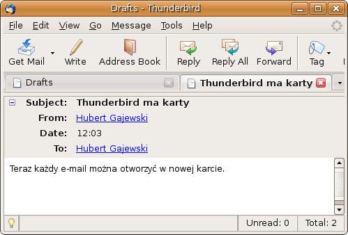 E-mail otwarty w nowej karcie