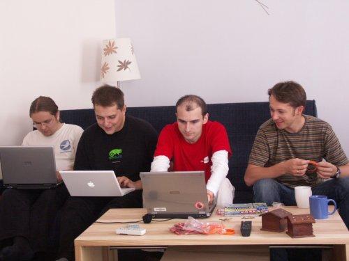 Adrian, Marek, ja i Wadim