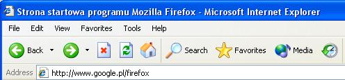 Internet Explorer 6 - ikony