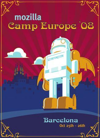 Mozilla Camp Europe 2008. © Toni Hermoso Pulido