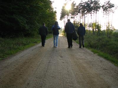 W drodze do jeziora