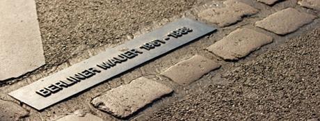 Ślad przebiegu muru berlińskiego