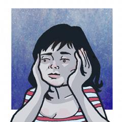 Sara Prussak - portret, © Tomasz Grządziela (http://kreskotok.blogspot.com)