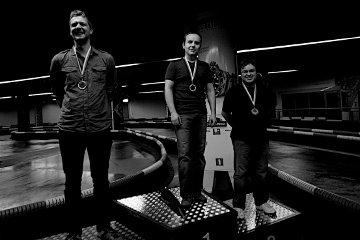 Na podium - złoto: Tomasz Dominikowski, srebro: Taras Glek, brąz: Adrian Kalla